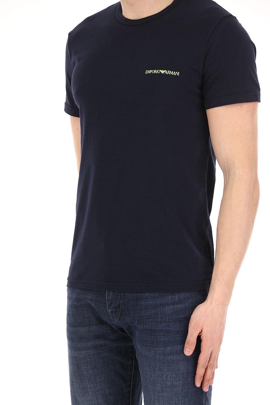 091b7df99b0b EMPORIO ARMANI pánské trička 2 ks modrá marine 111267 8P717 27435 ...