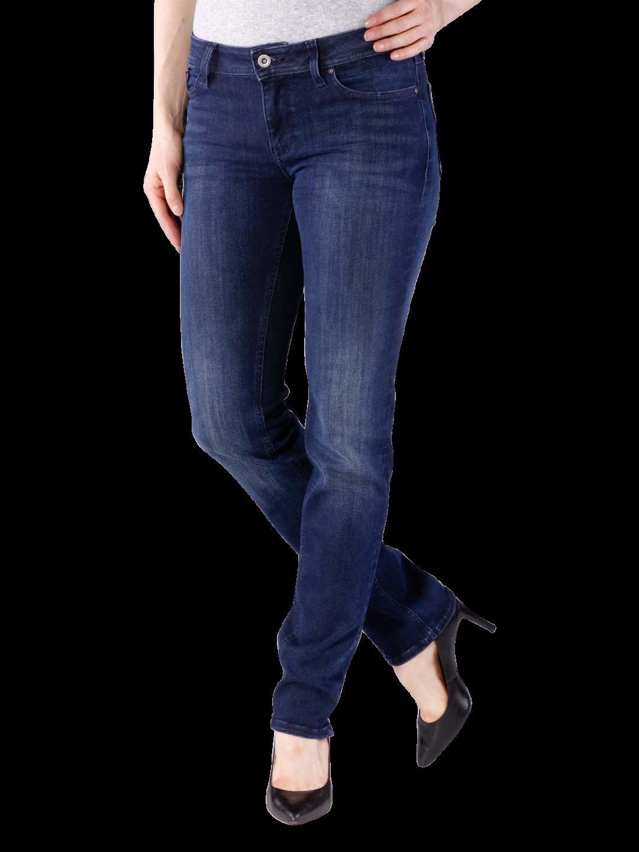 TOMMY HILFIGER dámské džíny tmavě modré 1657664231 989 Sandy č.1 c3b3325fa1