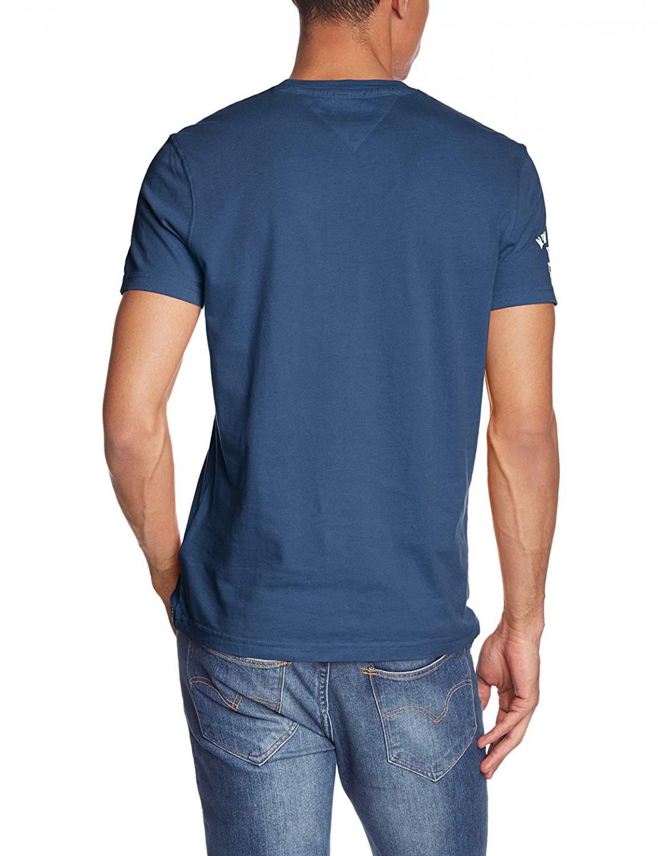 TOMMY HILFIGER pánské tričko modré s potiskem 1957859912 425 č.2 785c3068818