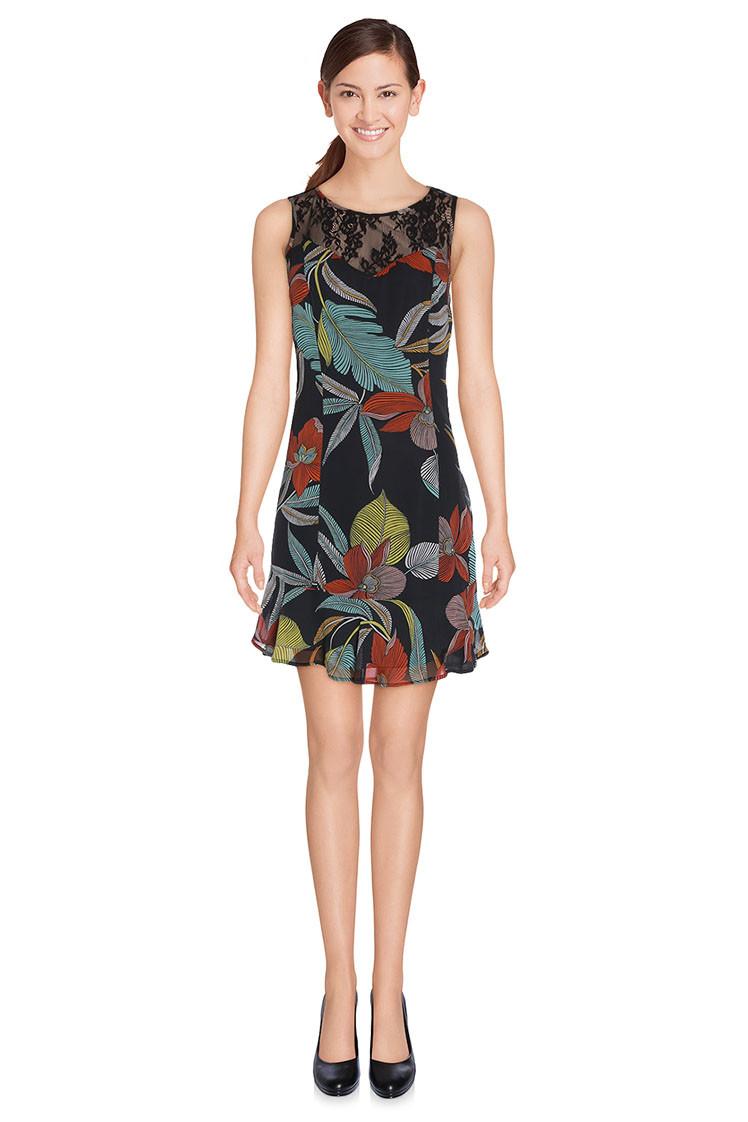 Guess Guess by MARCIANO vícebarevné šaty
