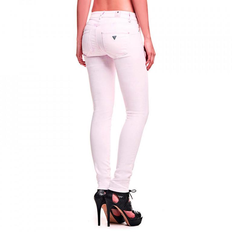GUESS dámské džíny světle růžové W61AJ2 D21W0 476ef06f0b
