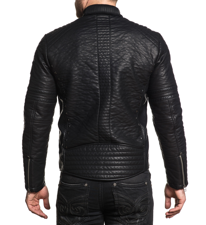 5d793c4d0a Affliction pánská bunda černá WARRANT 110OW332 č.2