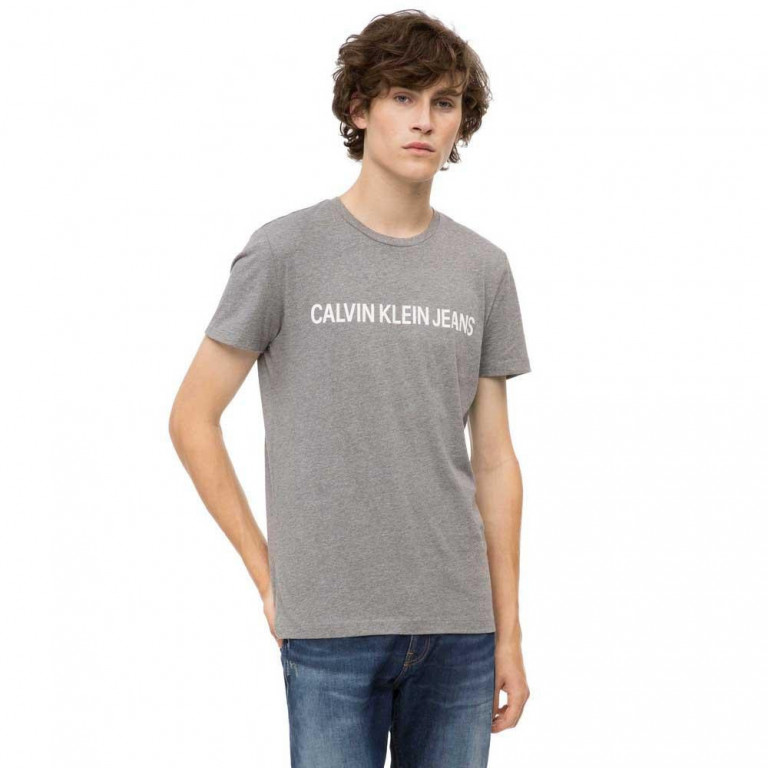 1cf25d828f Calvin Klein pánské tričko šedé