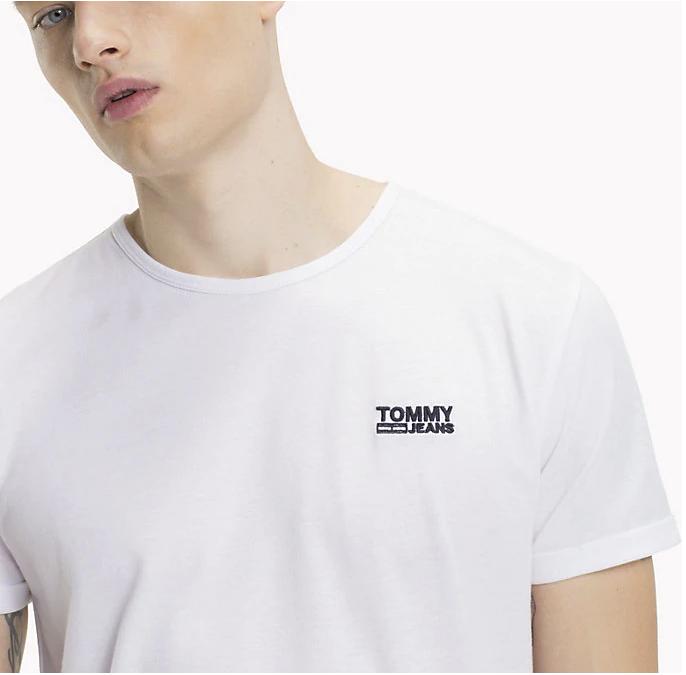 a0d8376b03 TOMMY HILFIGER pánské bílé tričko DM0DM04559 č.3