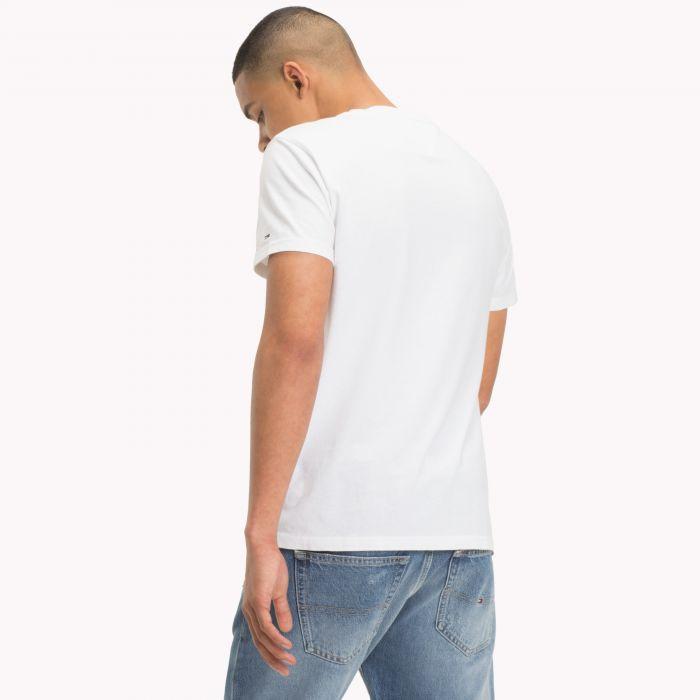 TOMMY HILFIGER pánské bílé tričko DM0DM05110 č.2 283c420b2c