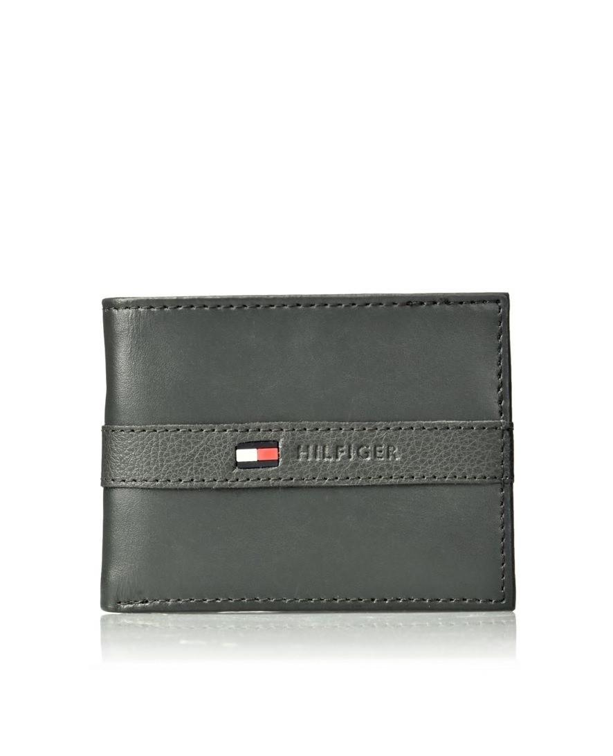 Tommy Hilfiger TOMMY HILFIGER pánská peněženka šedá