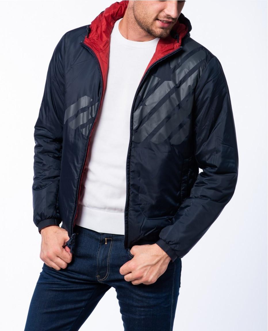 Armani Emporio Armani pánská podzimní/ zimní bunda oboustranná