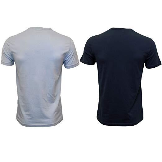 fc37b63058a5 EMPORIO ARMANI pánské tričko 2 ks - světlemodré