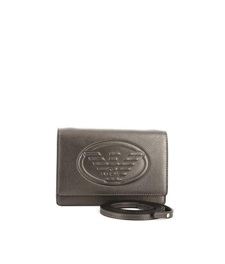 Armani Emporio Armani dámská kabelka stříbrná