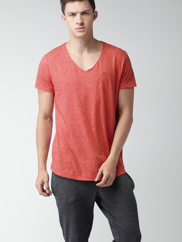 ca59dfe32b TOMMY HILFIGER pánské tričko červené č.1