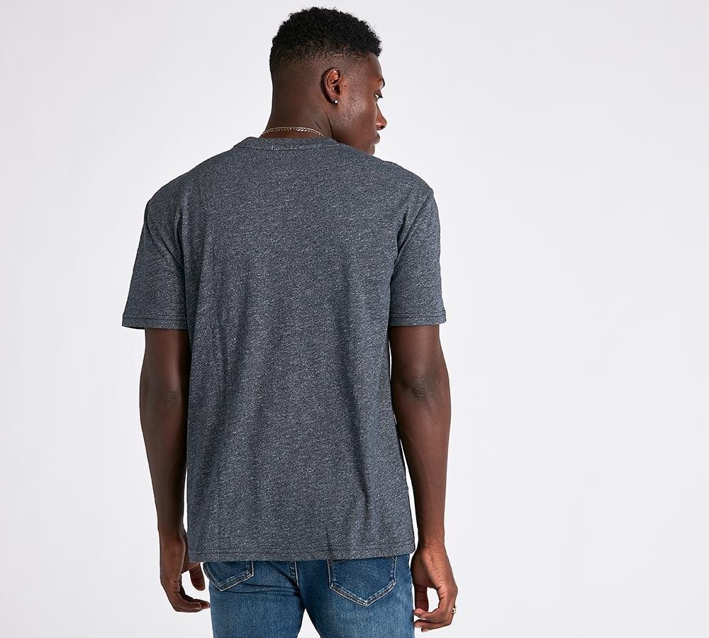 4612bbc9c379 TOMMY HILFIGER pánské tričko tmavě šedé č.2