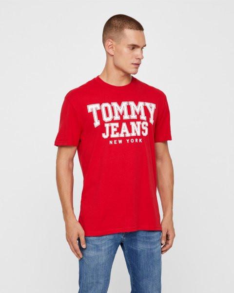 4562890686 TOMMY HILFIGER pánské červené tričko č.1