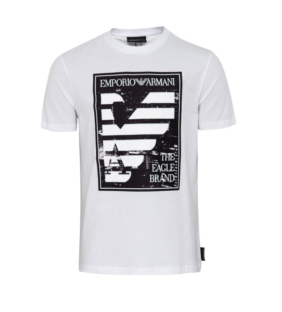 Armani EMPORIO ARMANI pánské tričko černé