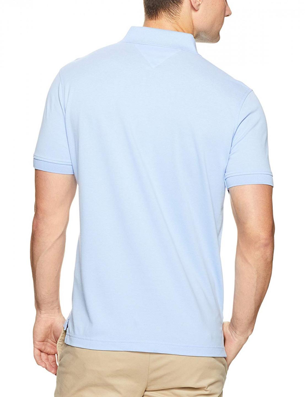 cb3a50f41d TOMMY HILFIGER pánské polo tričko světle modré THJP0005 č.2
