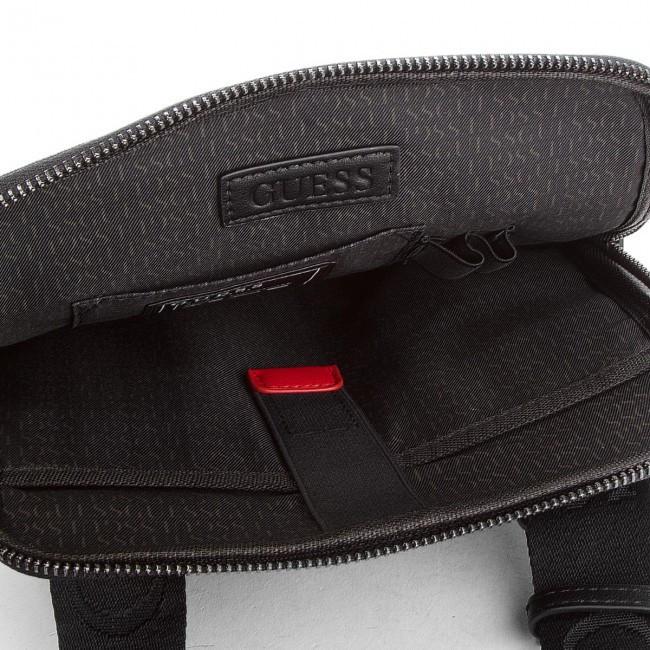 GUESS pánská černá taška přes rameno č.3 81e9ad353af