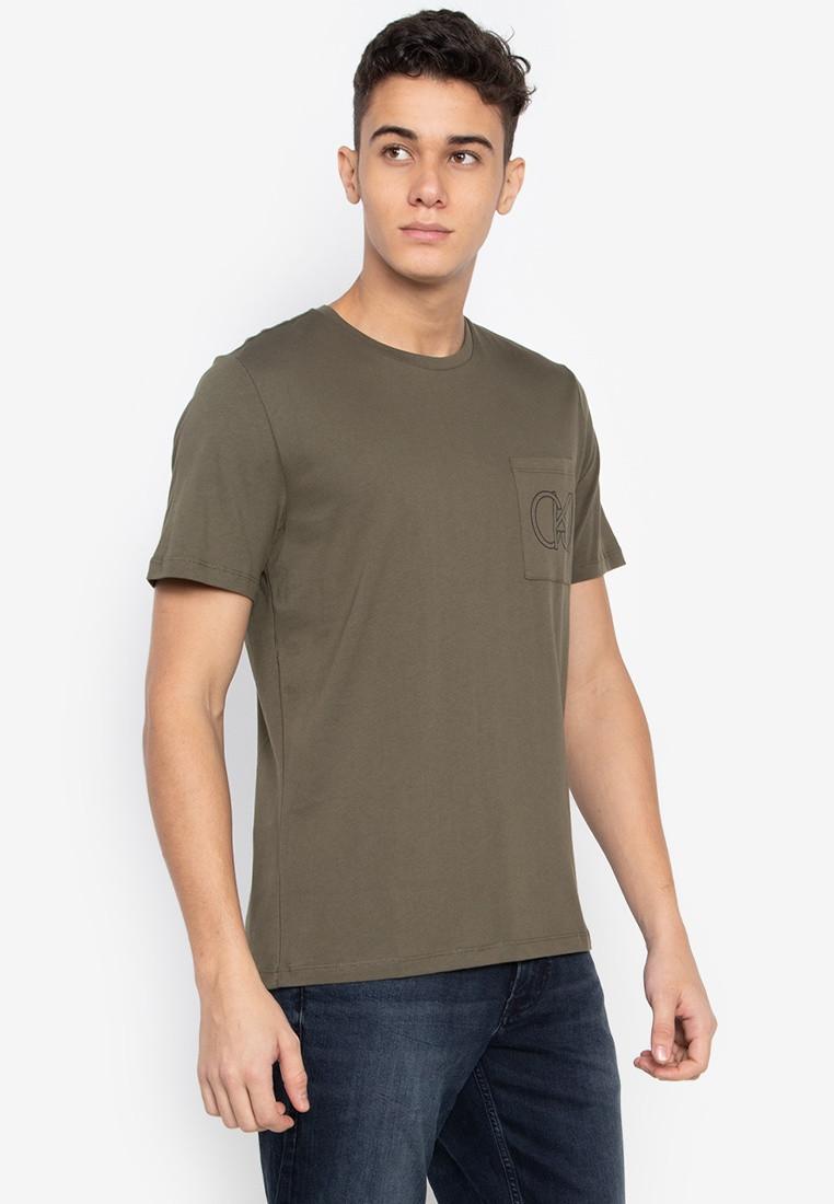 Calvin Klein Calvin Klein pánské tričko zelené