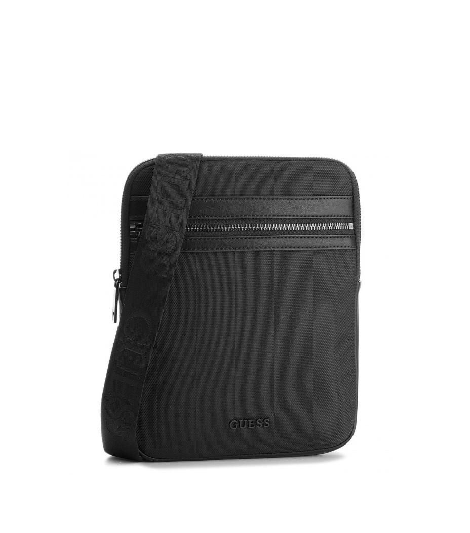 b01e1d52df GUESS pánská černá taška přes rameno č.1