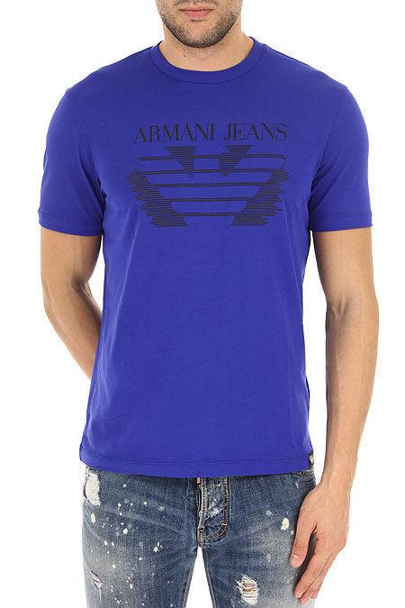 67791877ee74 Armani EMPORIO ARMANI pánské tričko modré