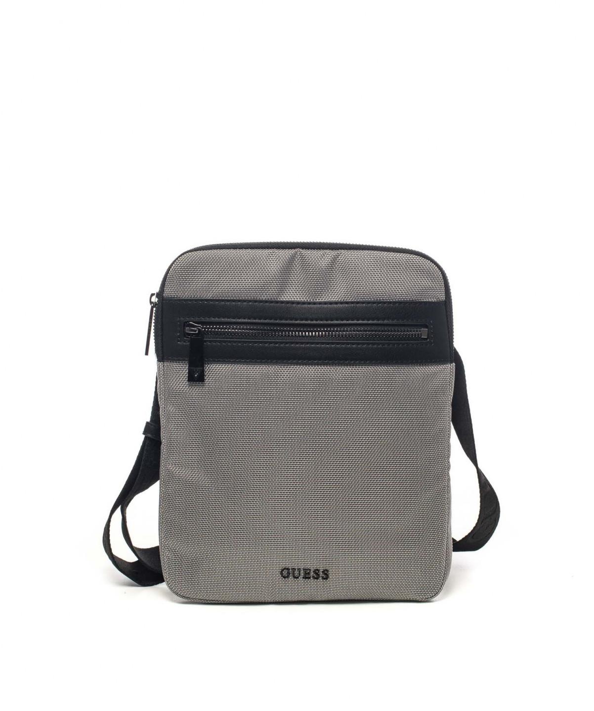 de4e045c55 GUESS pánská šedá taška přes rameno se vzorem č.1