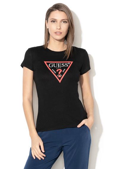 Guess GUESS dámské tričko černé