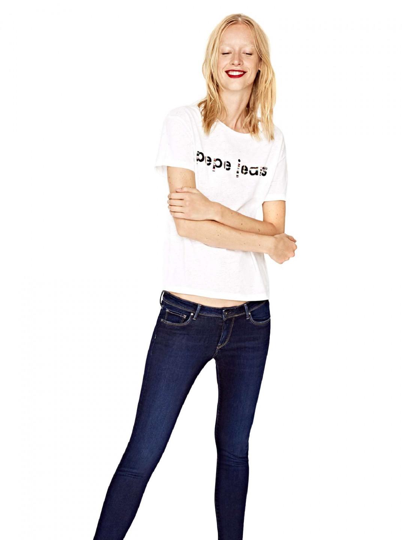 Pepe Jeans Pepe Jeans dámské bílé tričko CATALINA