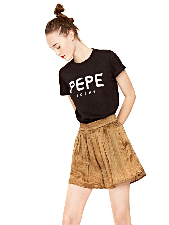 Pepe Jeans Pepe Jeans dámské černé tričko MARIONA
