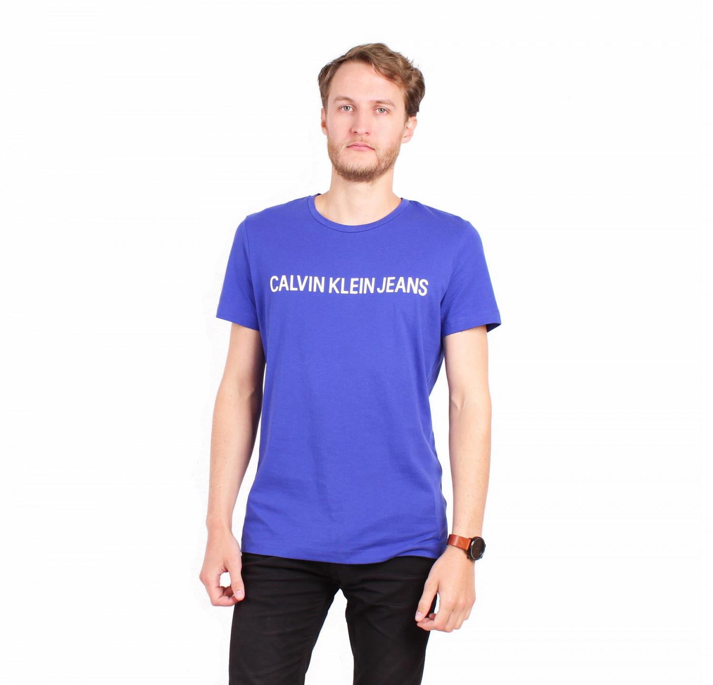 Calvin Klein Calvin Klein pánské tričko modré