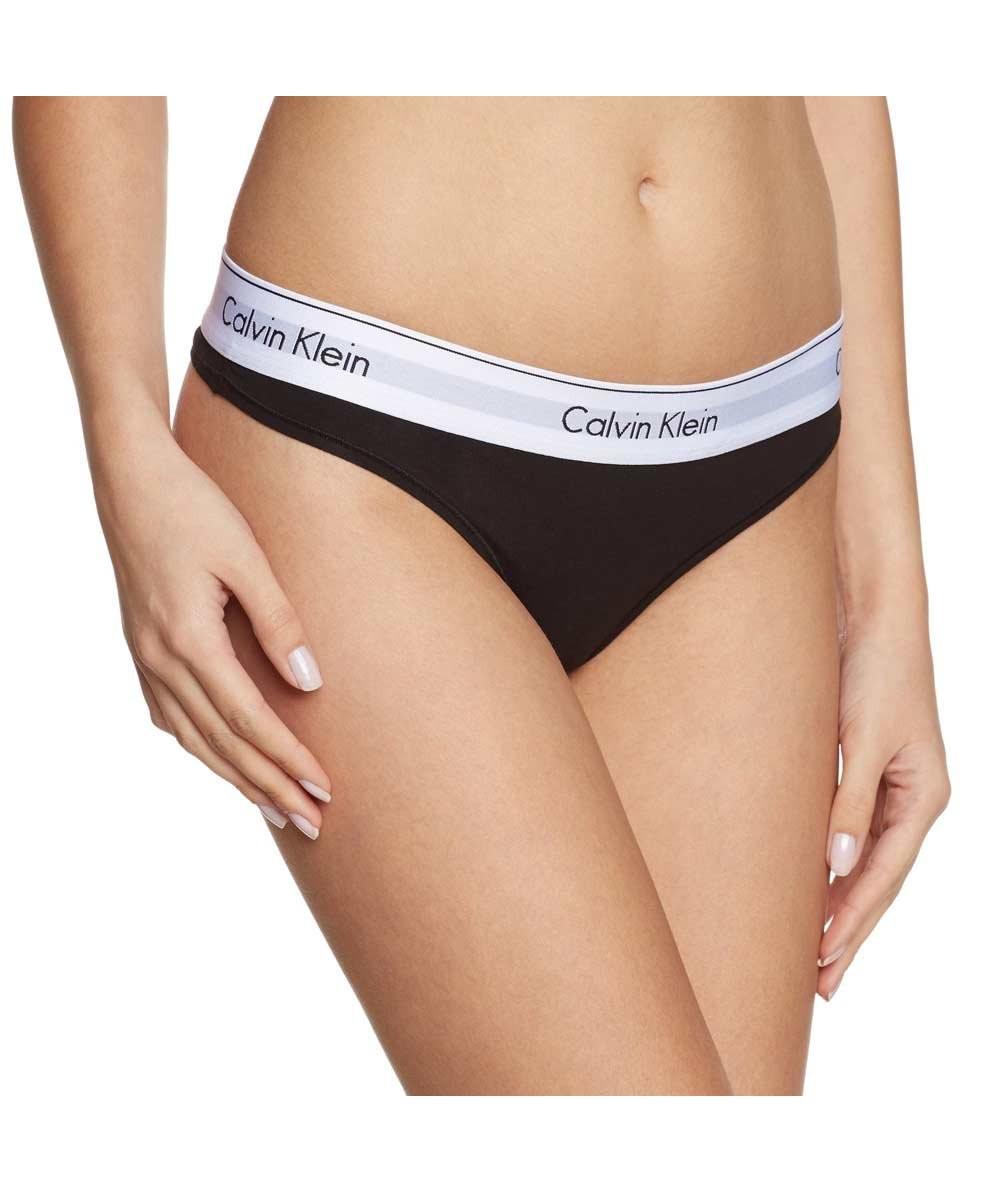 Calvin Klein Calvin Klein dámská černá tanga