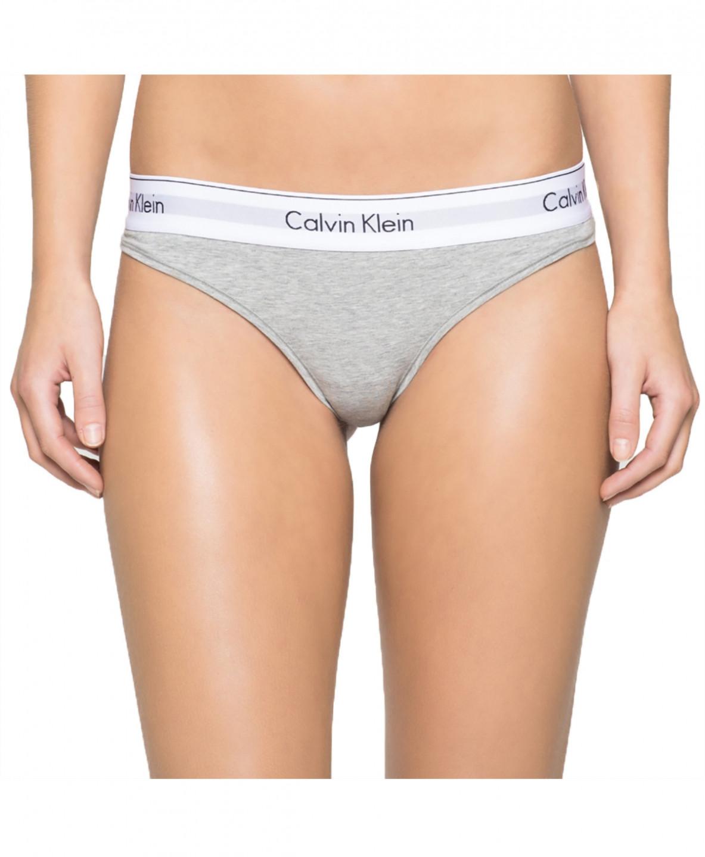 Calvin Klein Calvin Klein dámská šedá tanga