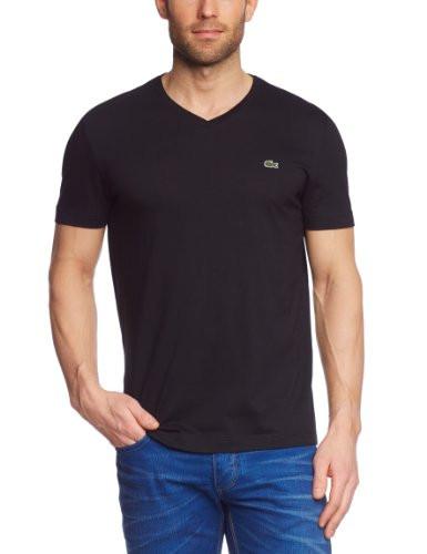 Lacoste Lacoste pánské černé tričko