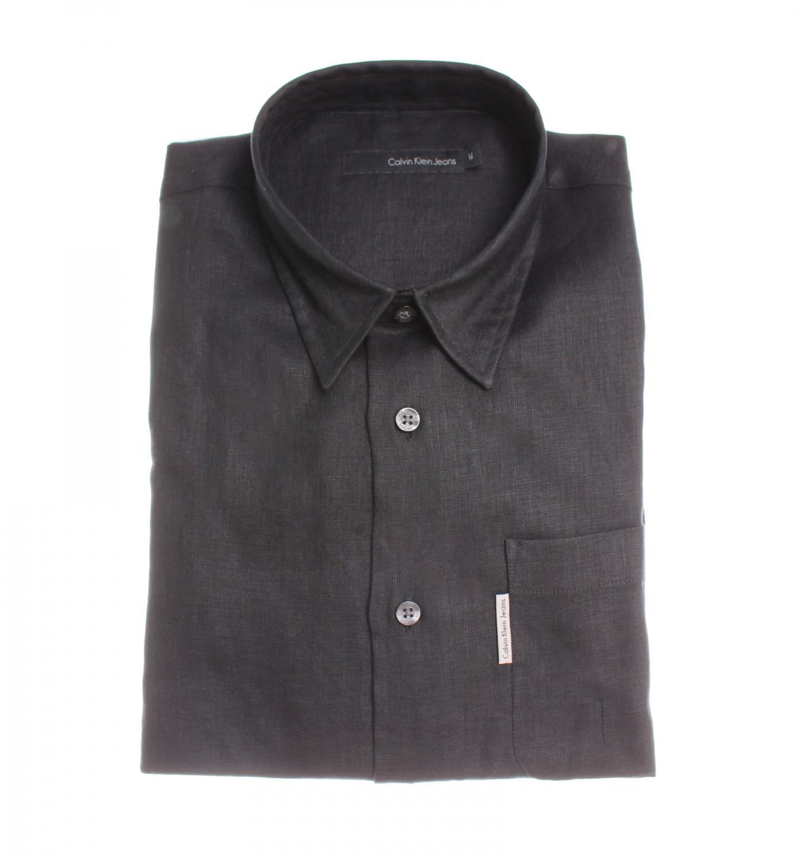 Calvin Klein Calvin Klein pánská černá košile