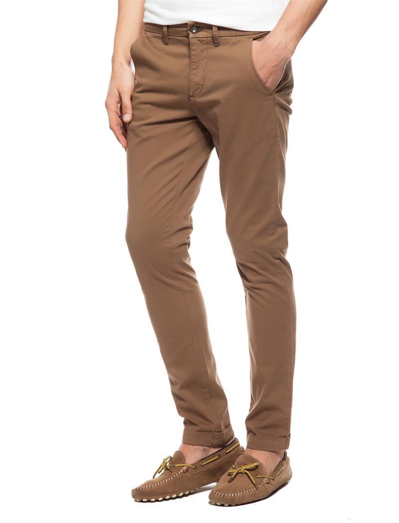 Calvin Klein Calvin Klein pánské hnědé kalhoty