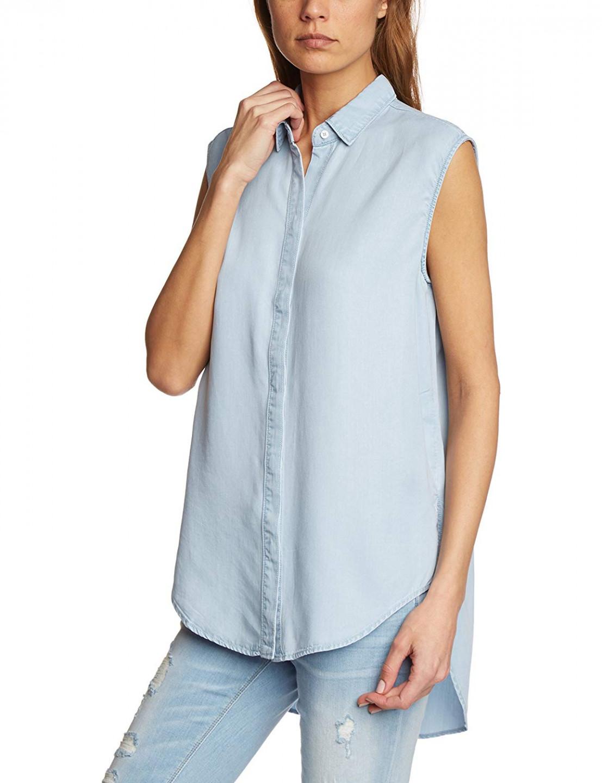 Calvin Klein Calvin Klein dámský světle modrý denim top bez rukávů
