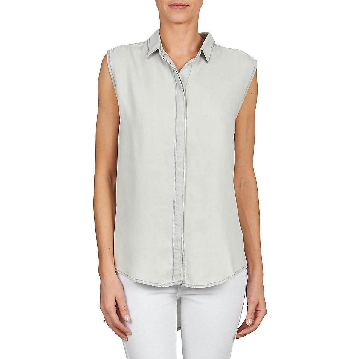 Calvin Klein Calvin Klein dámský světlý denim top bez rukávů