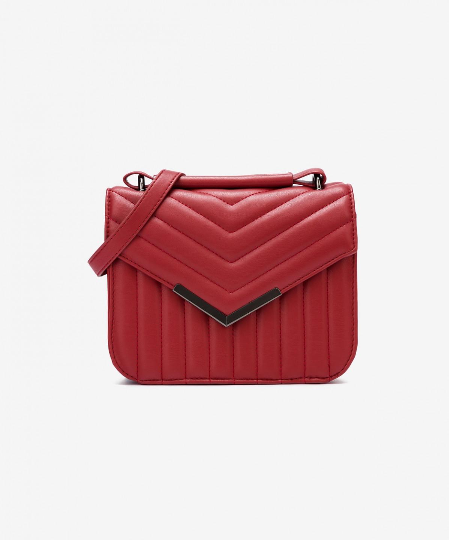 Pepe Jeans Pepe Jeans dámská červená kabelka Nicole
