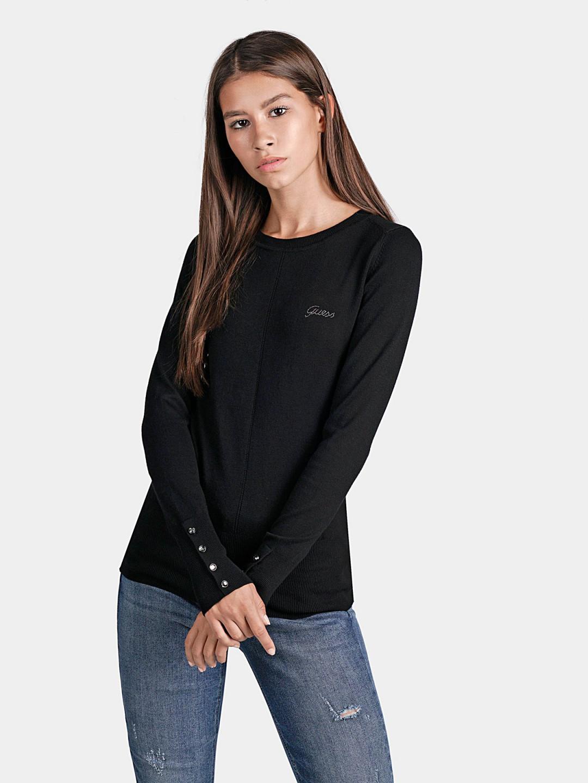 Guess GUESS dámský černý svetr