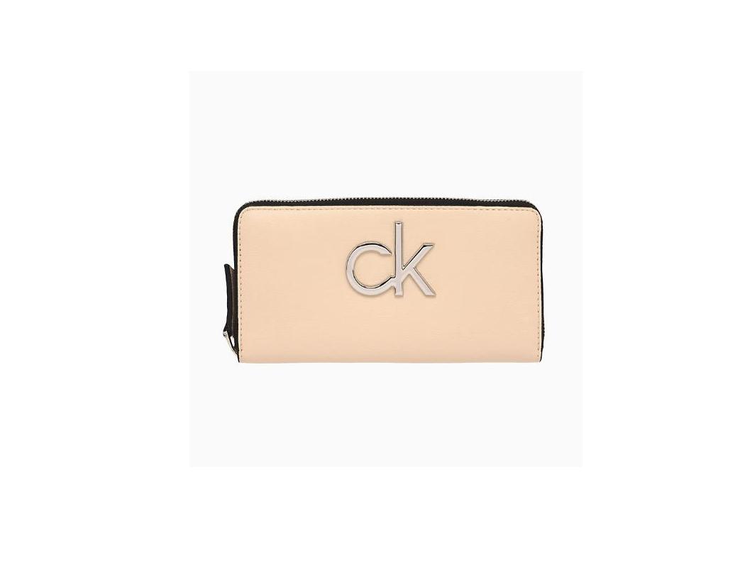 Calvin Klein Calvin Klein dámská béžová peněženka