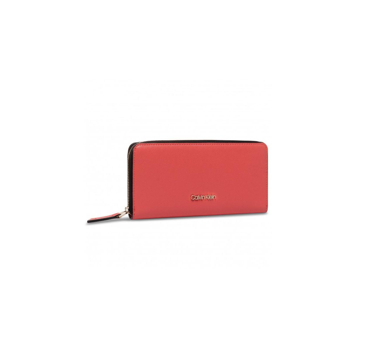 Calvin Klein Calvin Klein dámská korálová peněženka