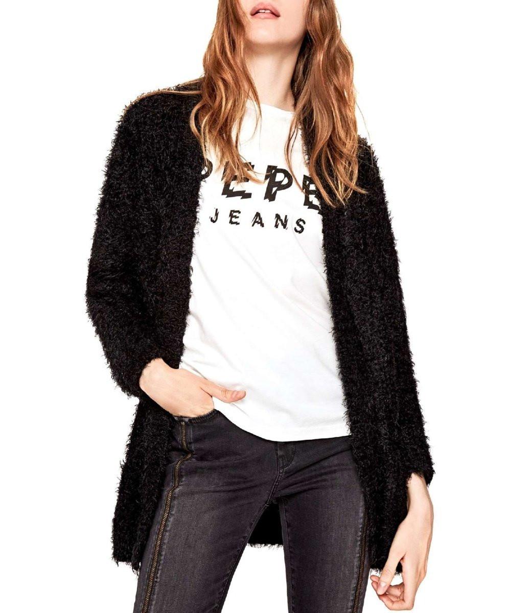 Pepe Jeans Pepe Jeans dámský černý cardigan ZOE