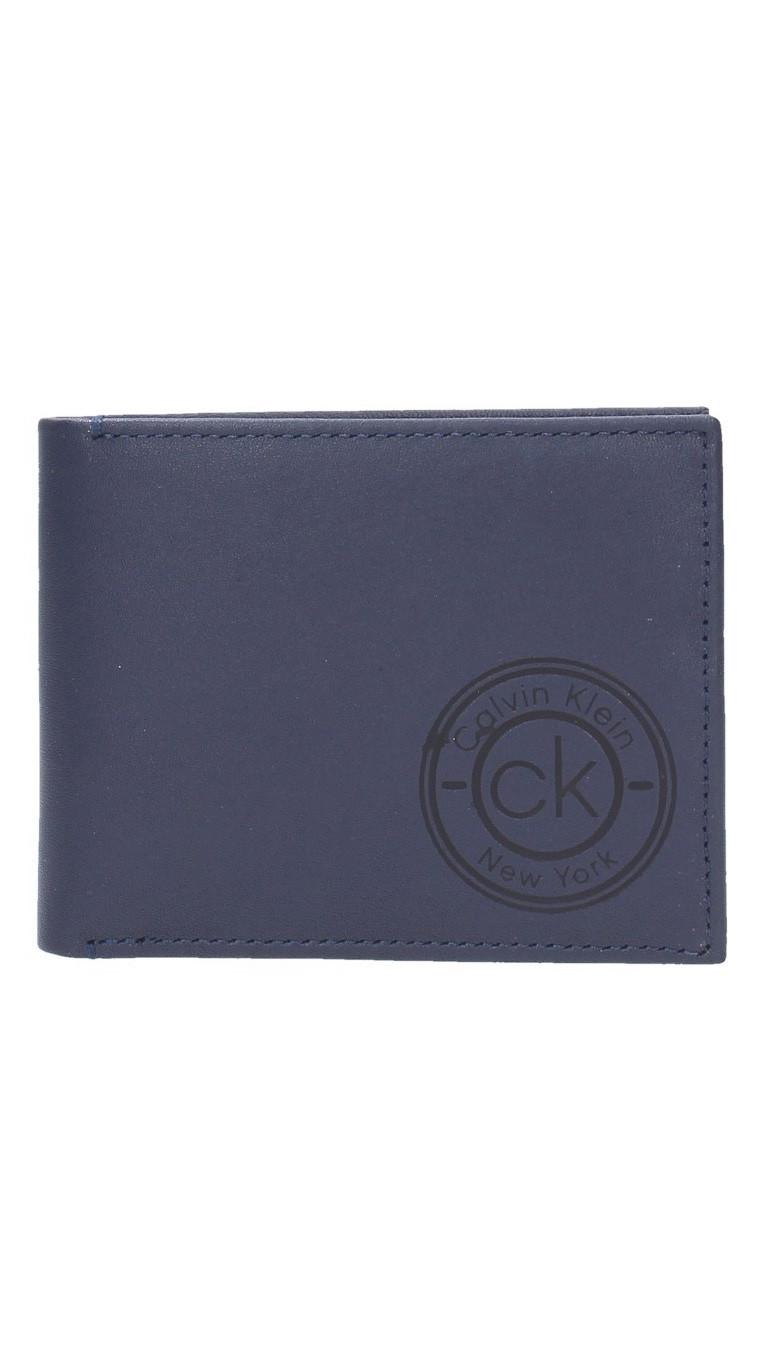 Calvin Klein Calvin Klein pánská tmavě modrá peněženka