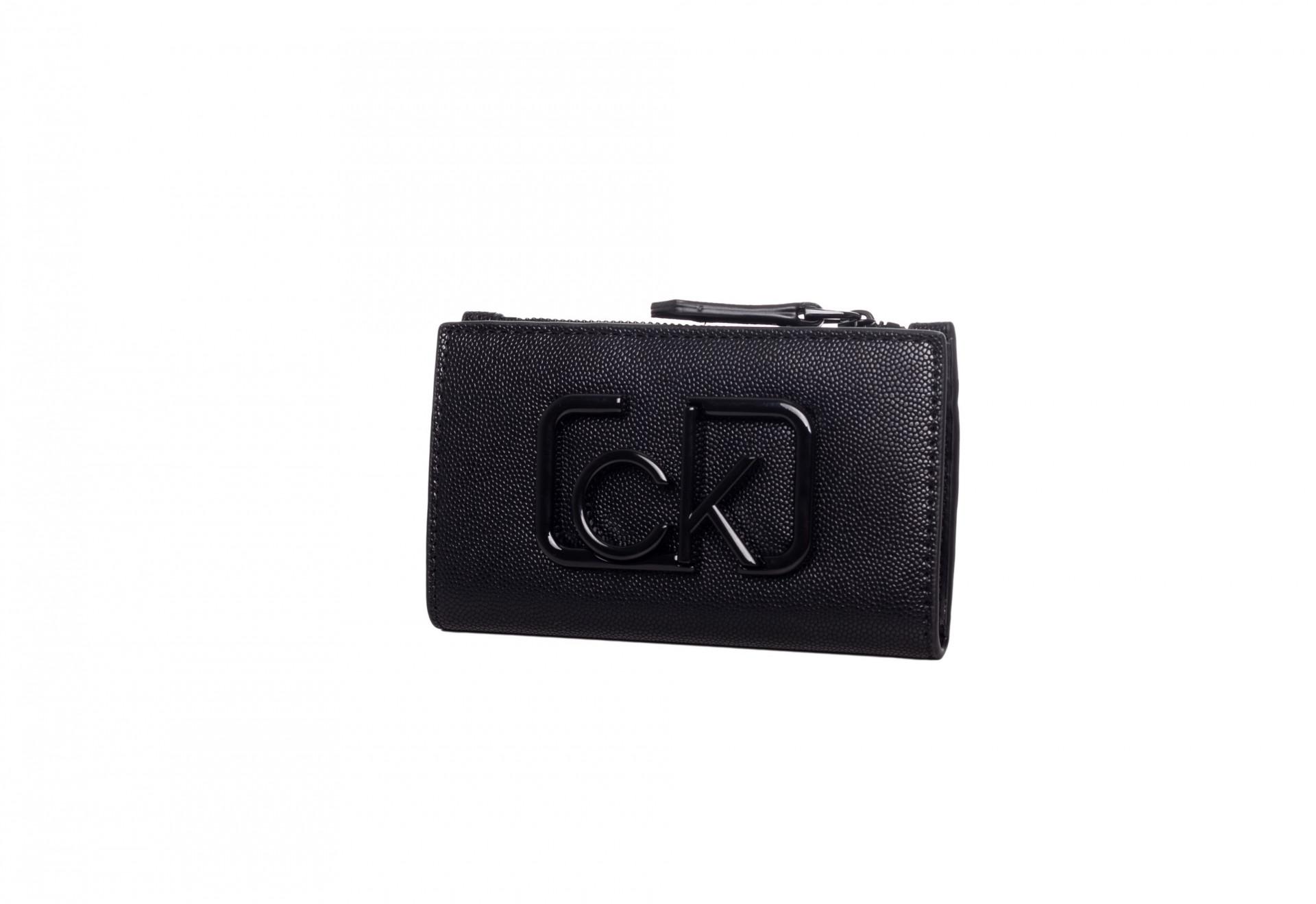 Calvin Klein Calvin Klein dámská černá peněženka Signature NS Cardholder