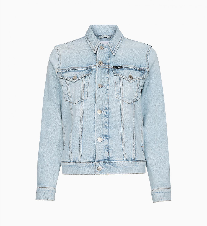 Calvin Klein Calvin Klein dámská džínová bunda Bleached Blue