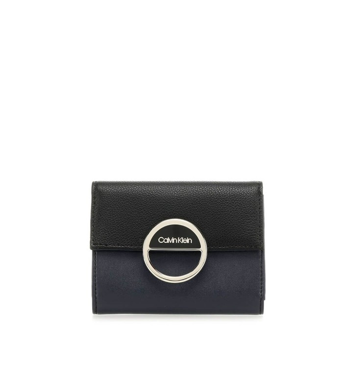 Calvin Klein Calvin Klein dámská černo modrá peněženka Hoop Trifold Wallet