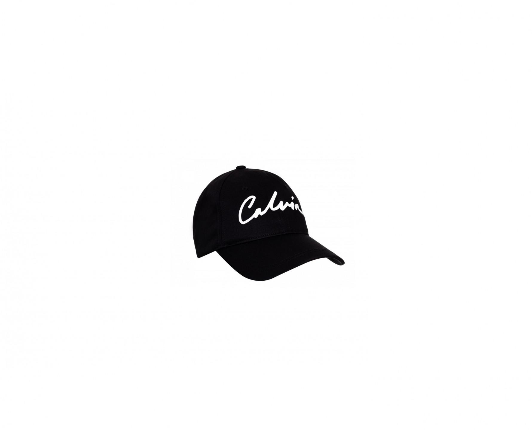 Calvin Klein Calvin Klein dámská černá kšiltovka SIGNATURE CAP