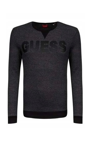 Guess GUESS pánský šedý svetr