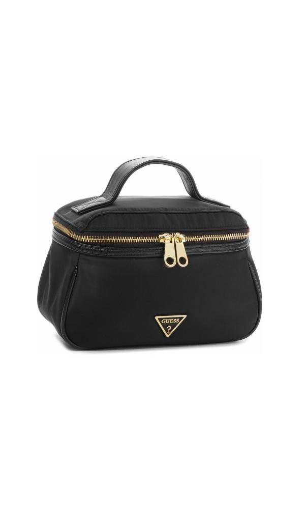 Guess Guess dámský černý kosmetický kufřík