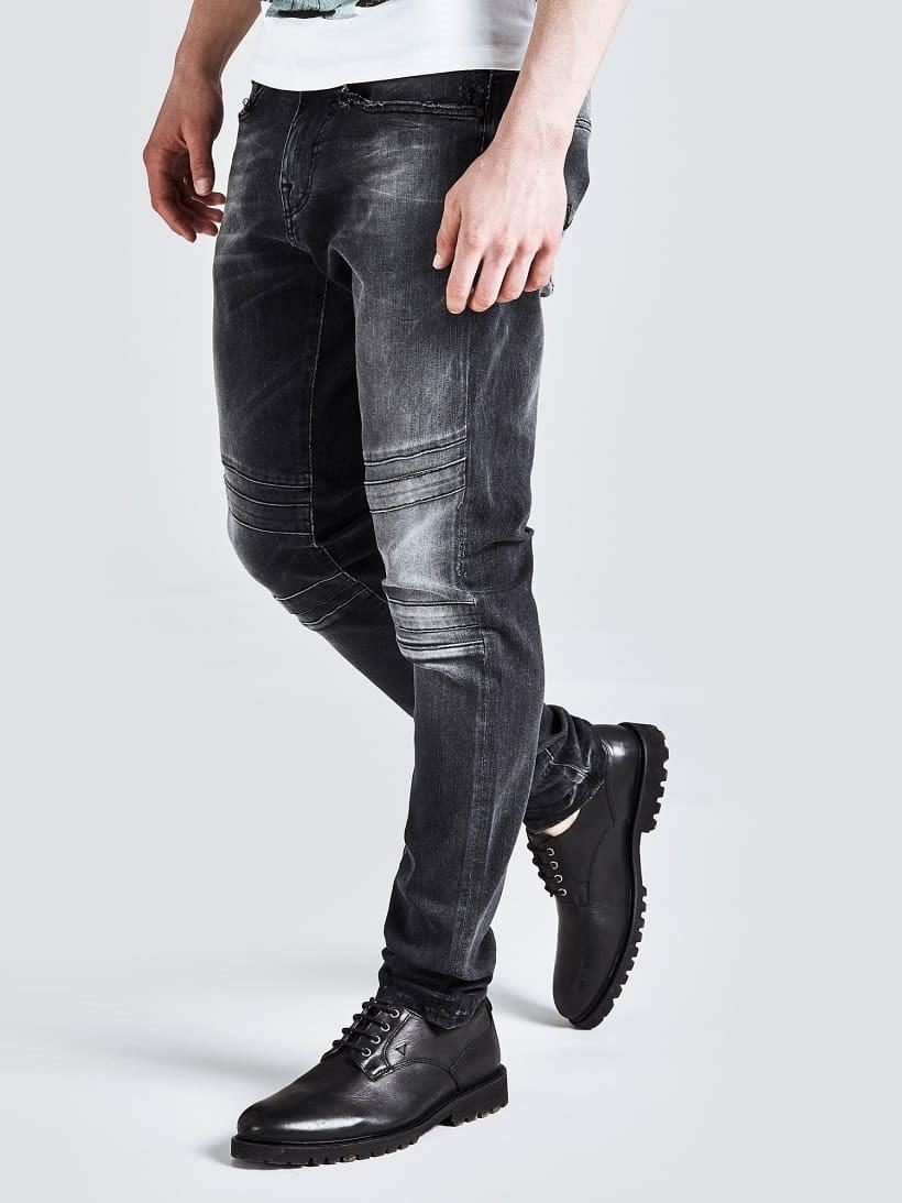 Guess GUESS pánské černé džíny
