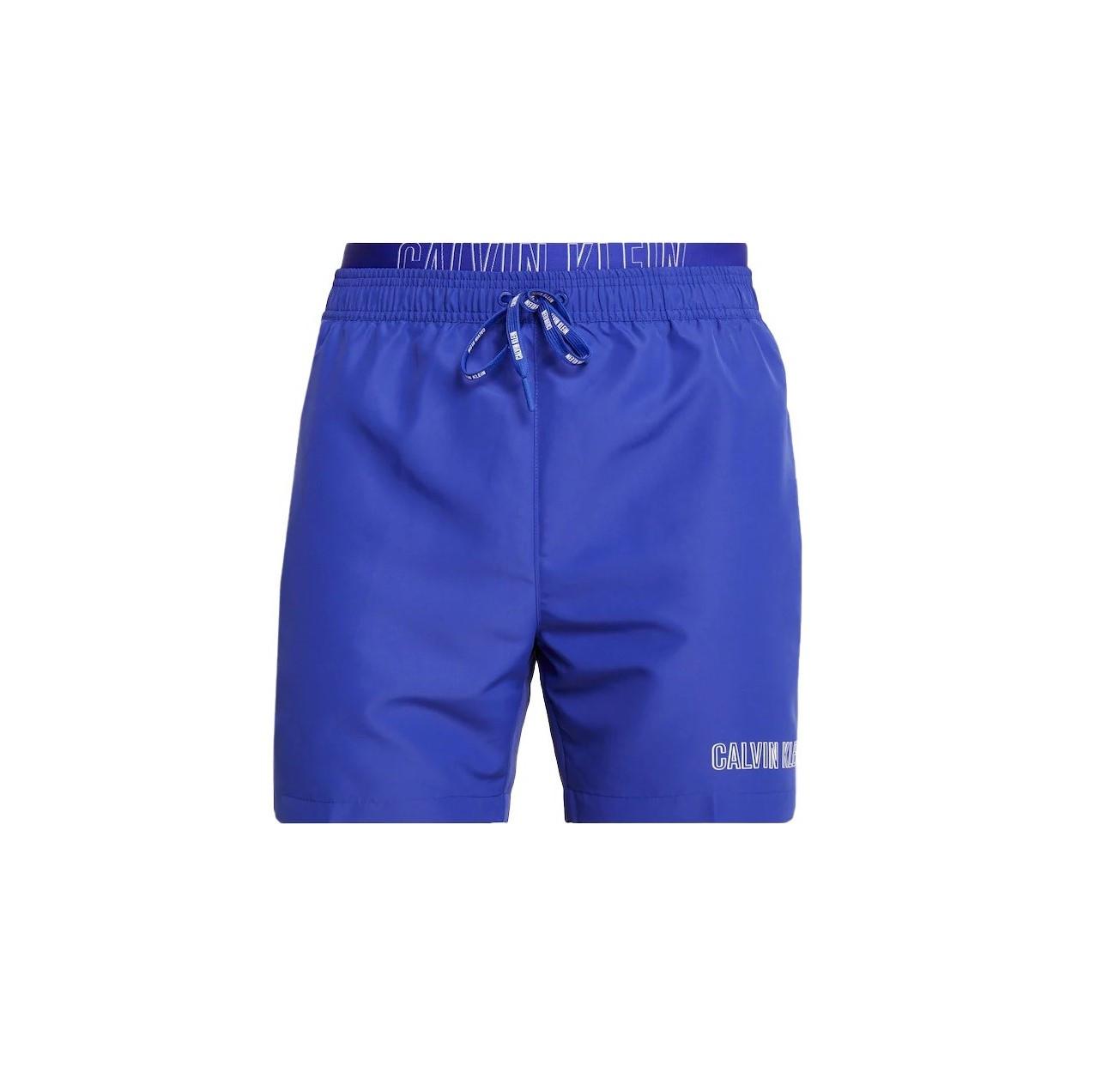 Calvin Klein Calvin Klein pánské modré plavky