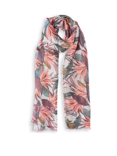Guess GUESS dámský růžový šátek