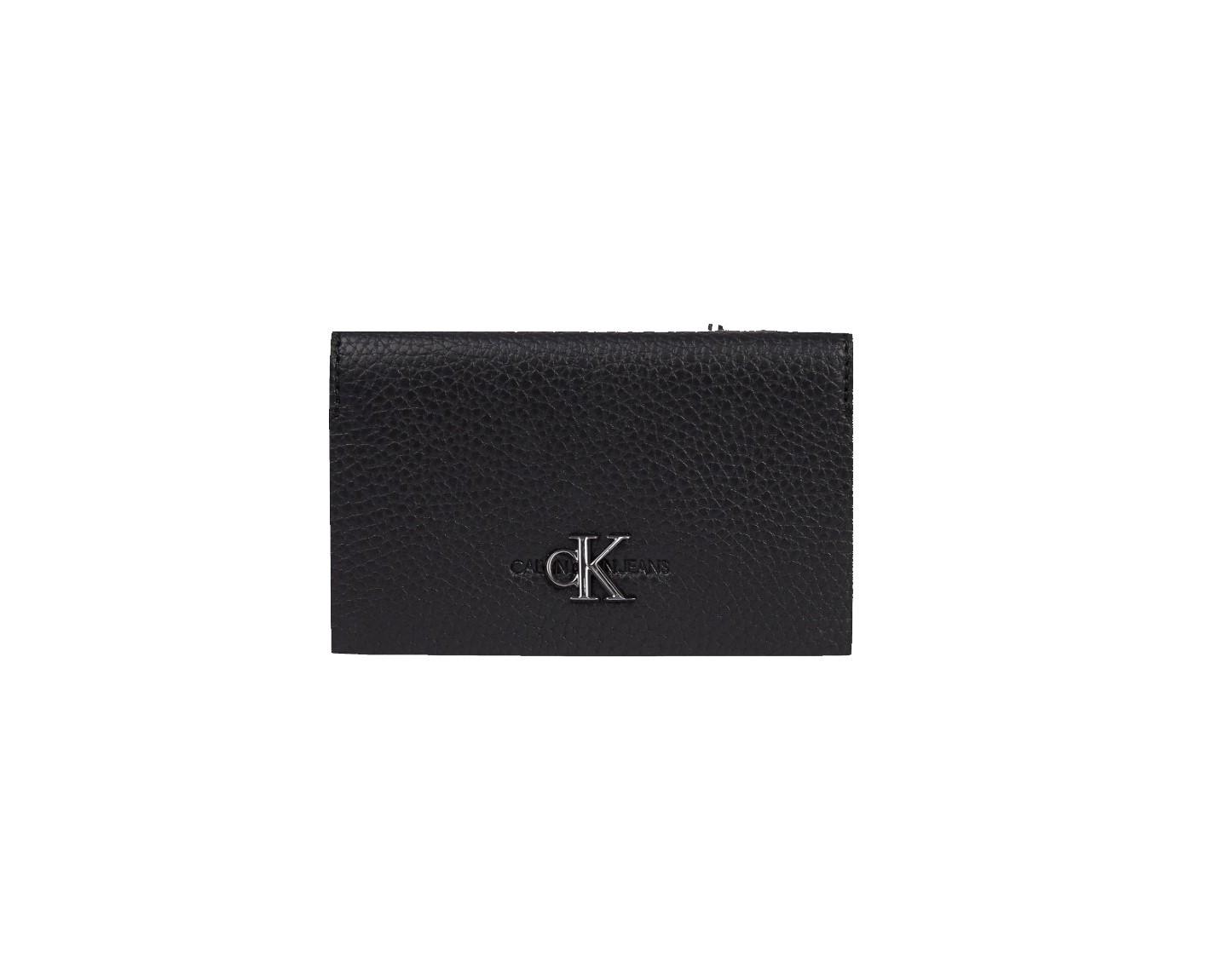 Calvin Klein Calvin Klein pánská velká černá peněženka CARDCASE W/COIN